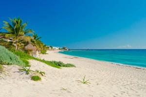 Самые чистые пляжи Канкуна