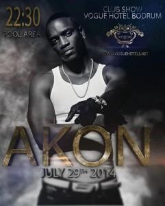 Концерт Эйкона в Vogue Hotel Bodrum 5* – 29.07.14