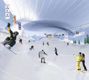 Катание на лыжах в Дубае – это реальность