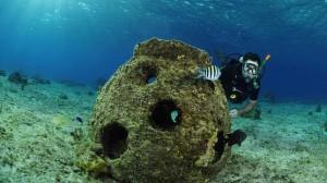 В Испании сооружён искусственный риф