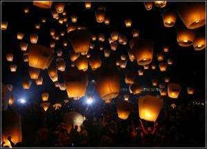 В Китае существует праздник фонарей