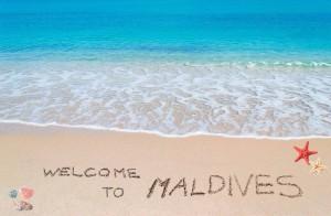 Жаркий зимний курорт на Мальдивах