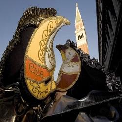 В Италию съехались гости на Венецианский карнавал