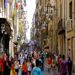 Испанские туристы чаще всего делают покупки в Барселоне