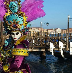 Карнавал в волшебном городе на воде!