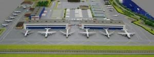Чартерные рейсы смогут летать из нового Московского аэропорта