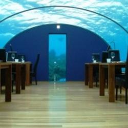 В Индии появился первый подводный ресторан.