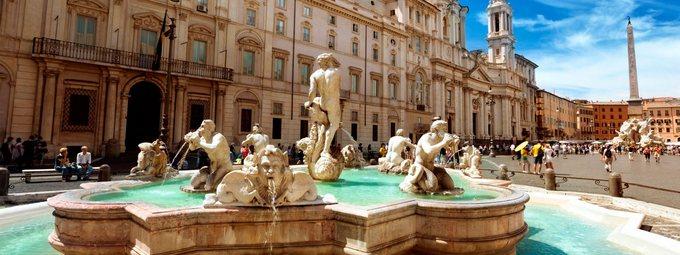 Великолепный Рим на майские праздники!