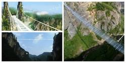 В Китае, на месте съёмок «Аватара» появился самый длинный стеклянный мост!
