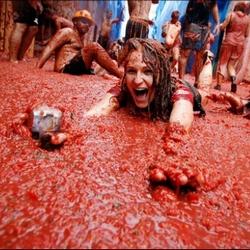 В Испании пройдет ежегодная томатная баталия!