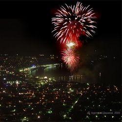 Зрелищное шоу фейерверков пройдет в Геленджике