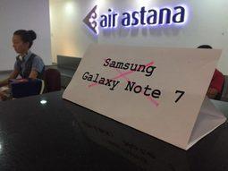 Смартфоны Самсунг запретили использовать в аэропортах страны