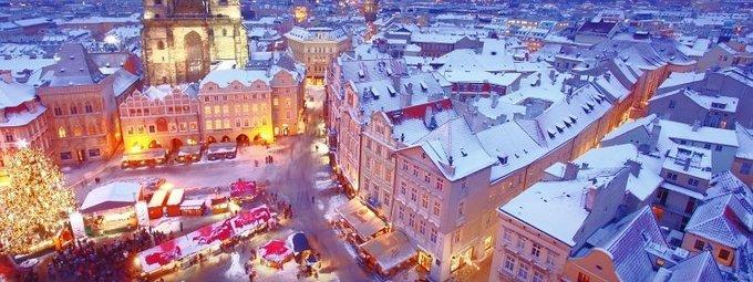 Зимняя сказка в Праге по супер-цене от Тез Тур!