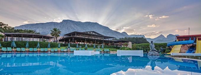 Отличный семейный отель в Турции!