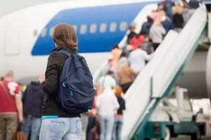 С рюкзаком в самолет