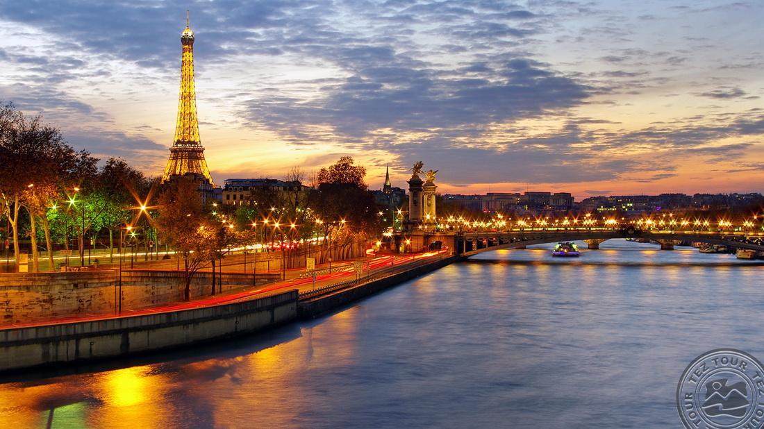 Экскурсионный тур по Парижу!!!