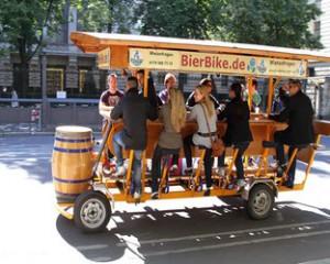 В Амстердаме запретили пивные велосипеды