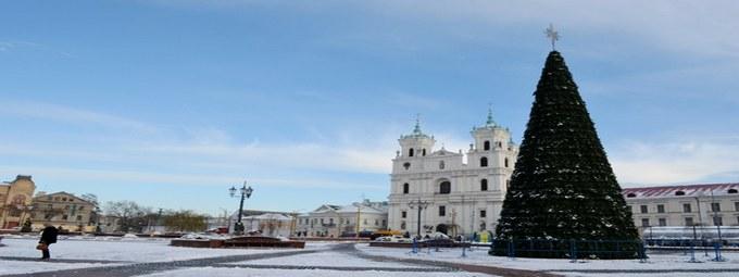 Республика Беларусь на Новый год!