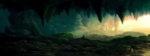 Ночь во  французской пещере.