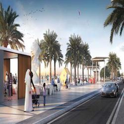 Новая пляжная зона в Шардже