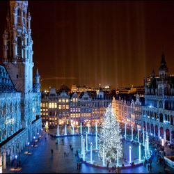 «Зимние чудеса» в Брюсселе.