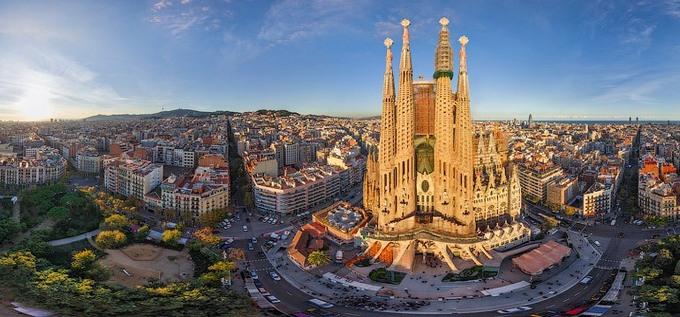 8 Марта в Барселоне! I need Spain!