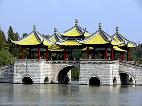 В Китае идет реставрация Яньчжоу