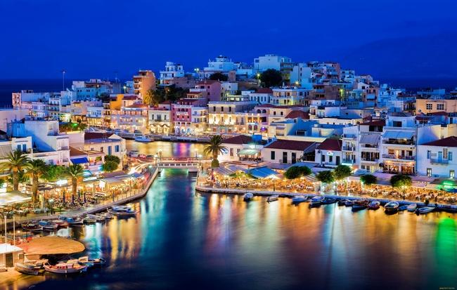 Солнечная Греция в мае.