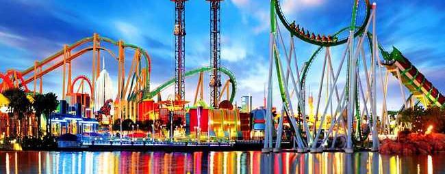 Не упусти свой шанс посетить один из самых известных в мире парков развлечений!