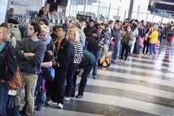 Очереди в аэропорту Пхукета.