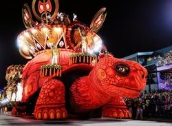Карнавал в Бразилии.