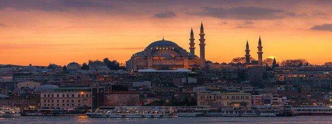 Стамбул из Санкт-Петербурга